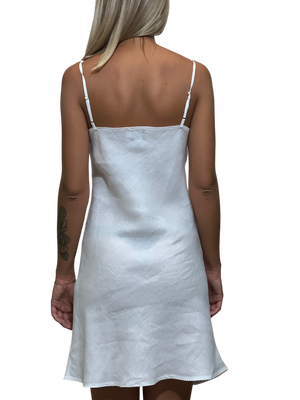 Load image into Gallery viewer, Linen Short Dress
