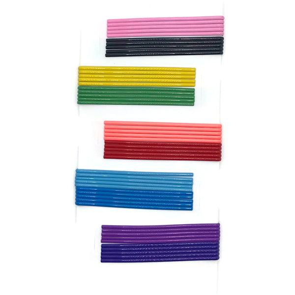 Multi-colored Bobby Pin Set