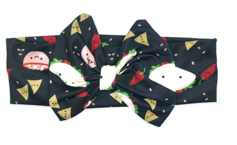 Taco Milk Silk Head Band Bow