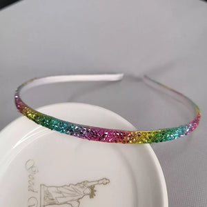Rainbow Skinny Bling Headband