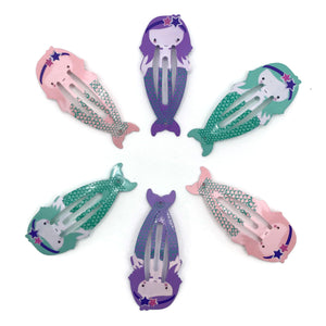 Mermaids Hair Clip Set