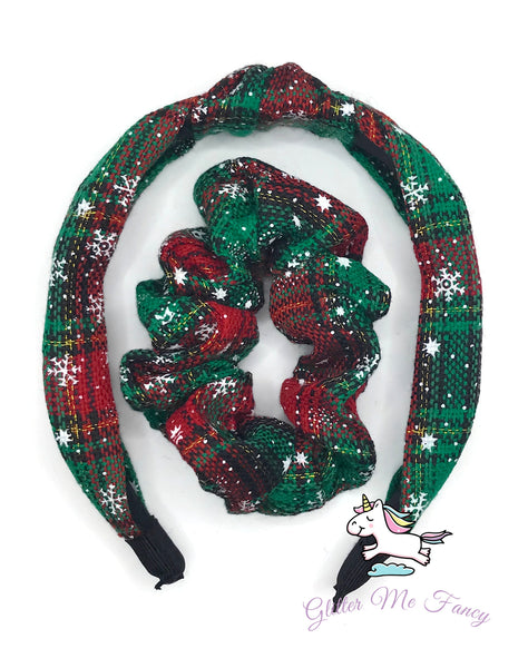 Holiday Headband & Scrunchies Set