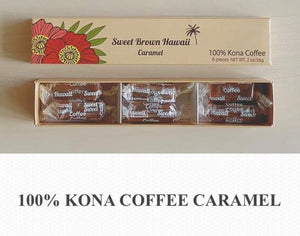 Sweet Brown Hawaii ★ Kona coffee/ Assorted mix