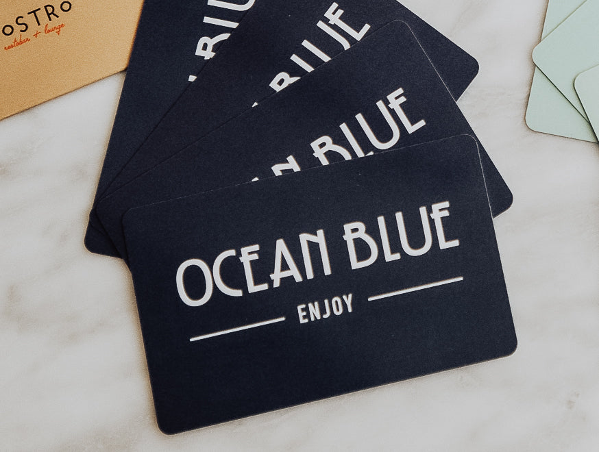 Ocean Blue Restaurant Gift Card