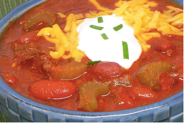 Beef and Chorizo Chili