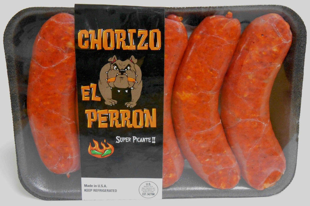 El Perron Chorizo - Super Picante Hot & Spicy