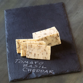 Tomato Basil Cheddar Cheese (3 - 7 oz pieces)