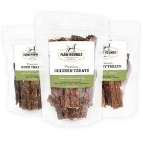 Premium Pet Treats Bundle (3 Pack)