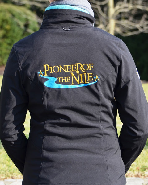 Pioneerof The Nile Soft Shell Jacket-ACROSS BACK