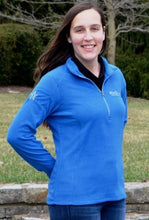 Load image into Gallery viewer, WinStar Ladie's Microfleece 1/2-Zip Pullover