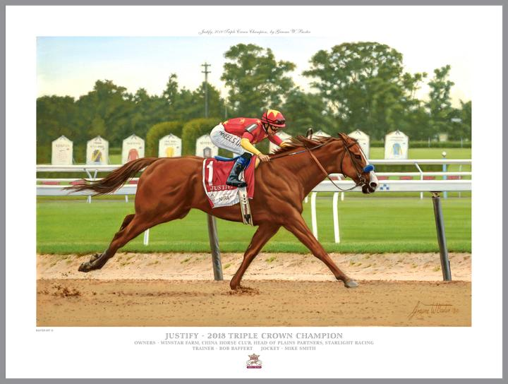 "Justify Commemorative Collection-Official Edition 16"" X 20"""
