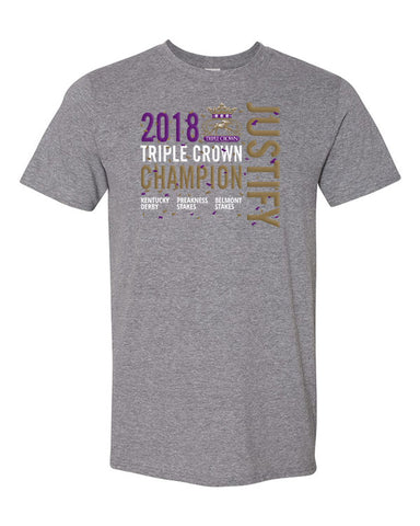 Justify-Triple Crown Winner 2018 T-Shirt