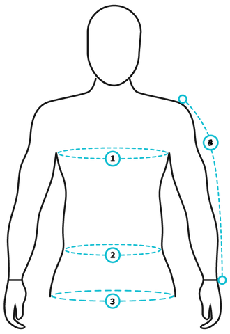 Jacket Fitting Guide Image