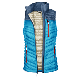 Down Vest Women's • Blue Sky