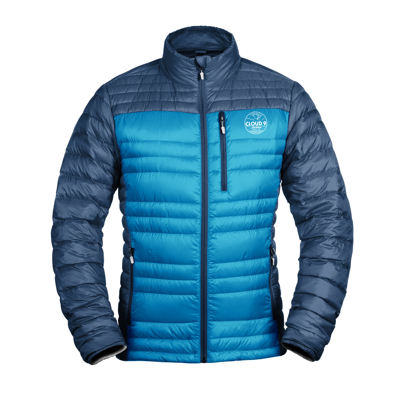 Down Jacket Men's • Blue Sky