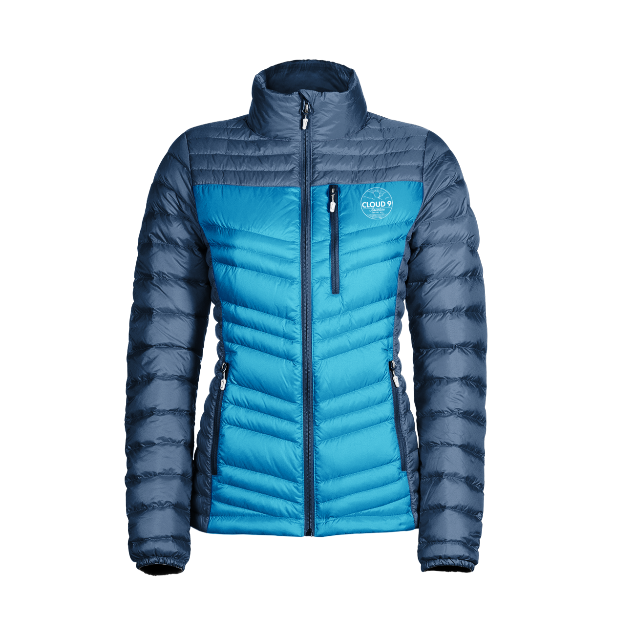Down Jacket Women's • Blue Sky
