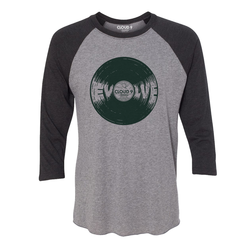 EVOLVE Raglan • Grey/Black