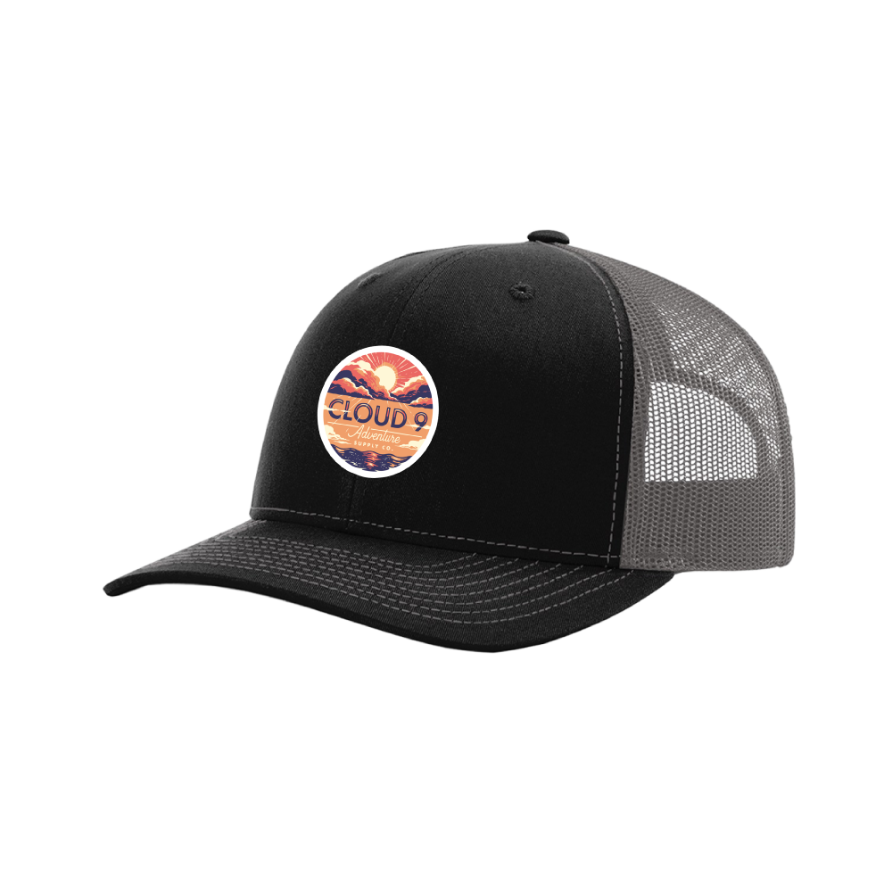 Adventure Trucker • Black/Charcoal