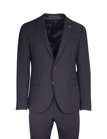Hilton Black Crepe Suit