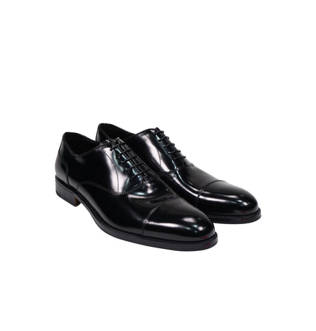 Alberto Lanciotti Black Dress Shoes