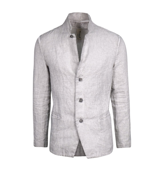 Transit Light Grey Linen Blazer
