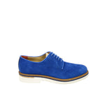 Brimarts Electric Blue Suede Shoes