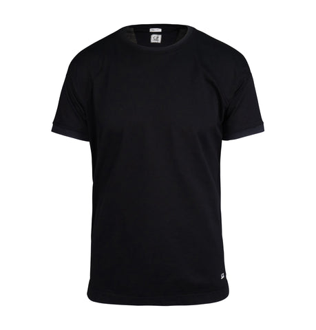 C.P. Company Black Pique White T-Shirt