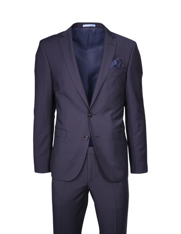 Sand Dark Navy Suit