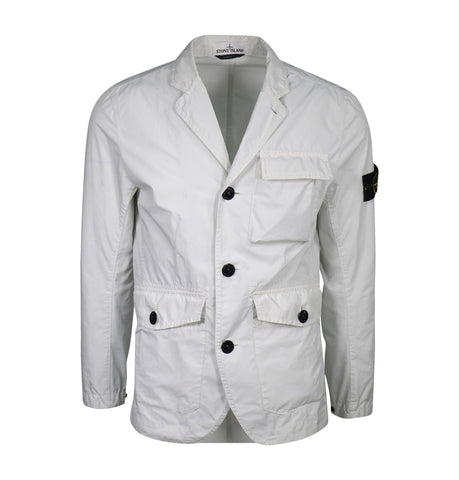 Stone Island Lightweight White Jacket