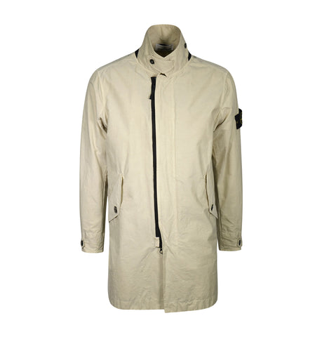 Stone Island Lightweight Long Jacket