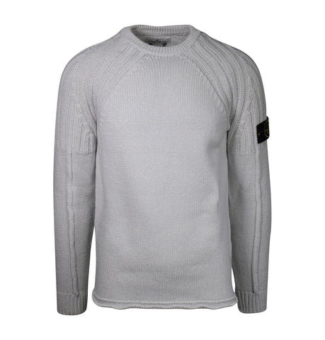 Stone Island Light Grey Knit