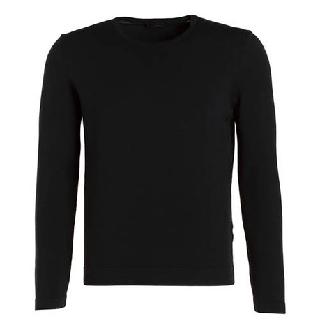 Phil Petter Black Crew Neck Pullover