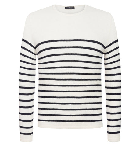 Phil Petter Classic Striped Crew Neck
