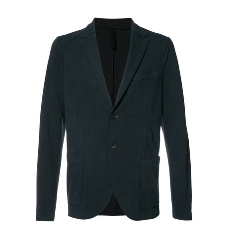 Harris Wharf London Navy Blue Blazer