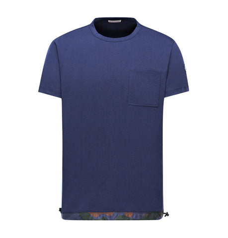Moncler Maglia Navy T-Shirt