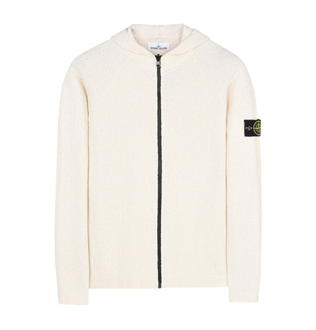 Stone Island Reversible Natural White Knit