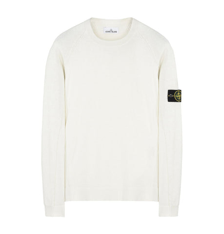 Stone Island Crew Neck Ice Knit