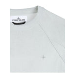 Stone Island Grey Cotton Crew Neck