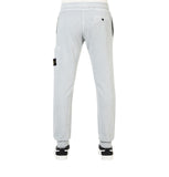 Stone Island Pearl Grey Cotton Sweatpants