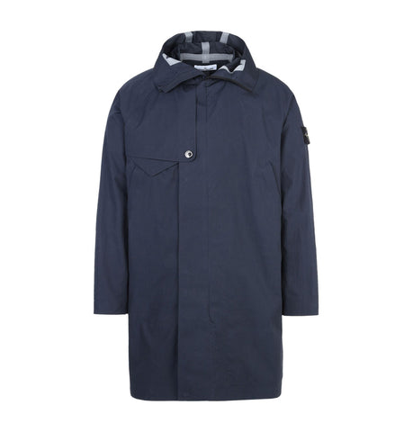 Stone Island Water Repellent Trench Coat