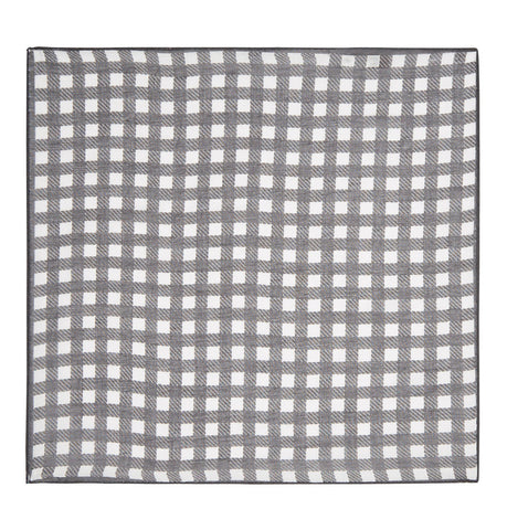 Hardy Amies Gingham Pocket Square