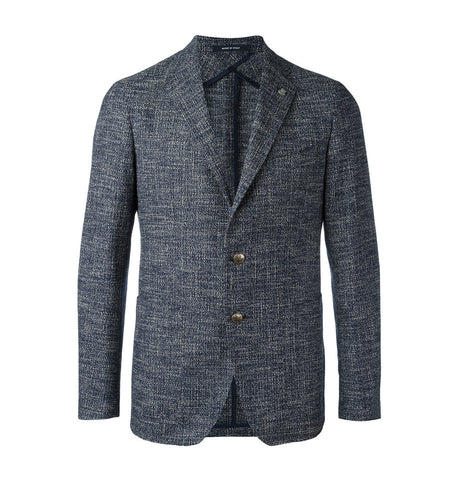 Tagliatore Notch Lapel Blazer