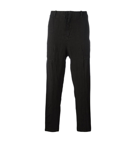 Transit Black Linen Trousers