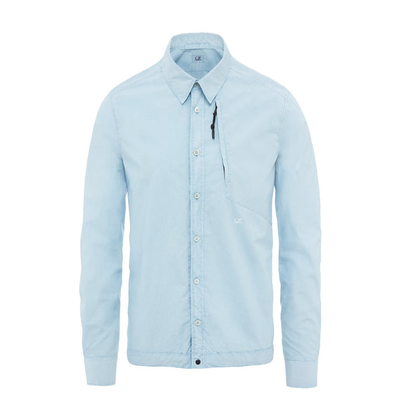 C.P. Company Regular Fit Popeline LS Shirt