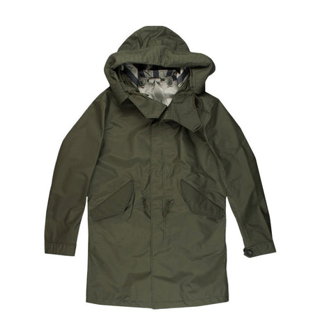 Ten C Ultra Light Olive Parka