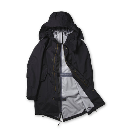 Ten C Ultra Light Black Parka