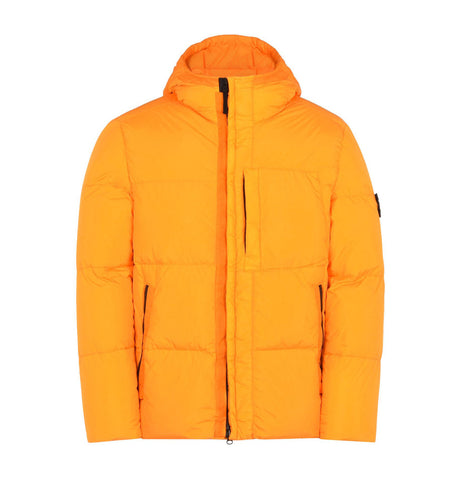 Stone Island Mid Length Orange Jacket
