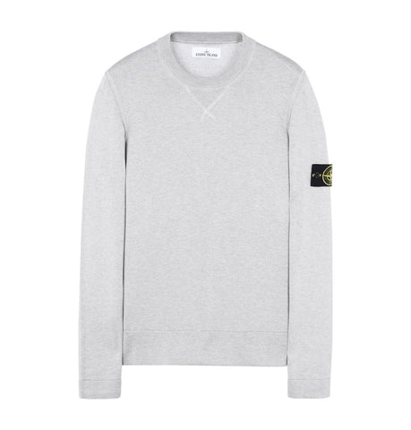 Stone Island Crewneck Pearl Grey Sweater