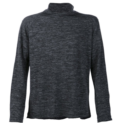 Transit Black Melange Turtle Neck