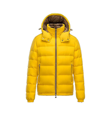 Moncler Brique Yellow Jacket